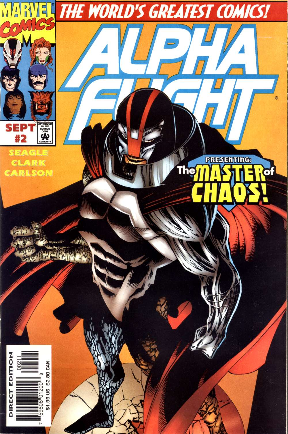 Read online Alpha Flight (1997) comic -  Issue #2 - 1