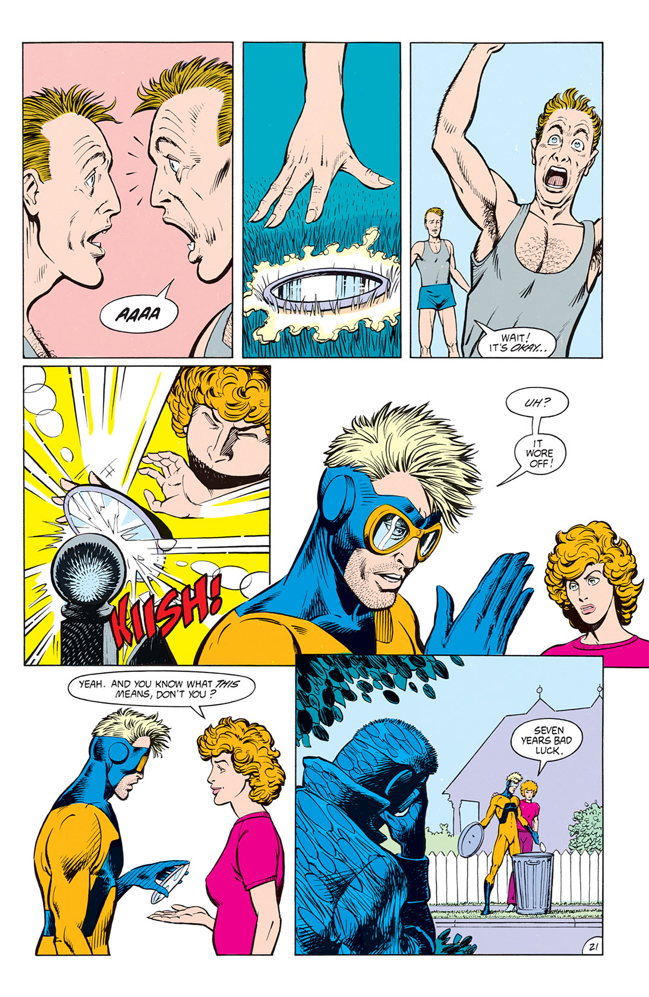 Read online Animal Man (1988) comic -  Issue #8 - 23