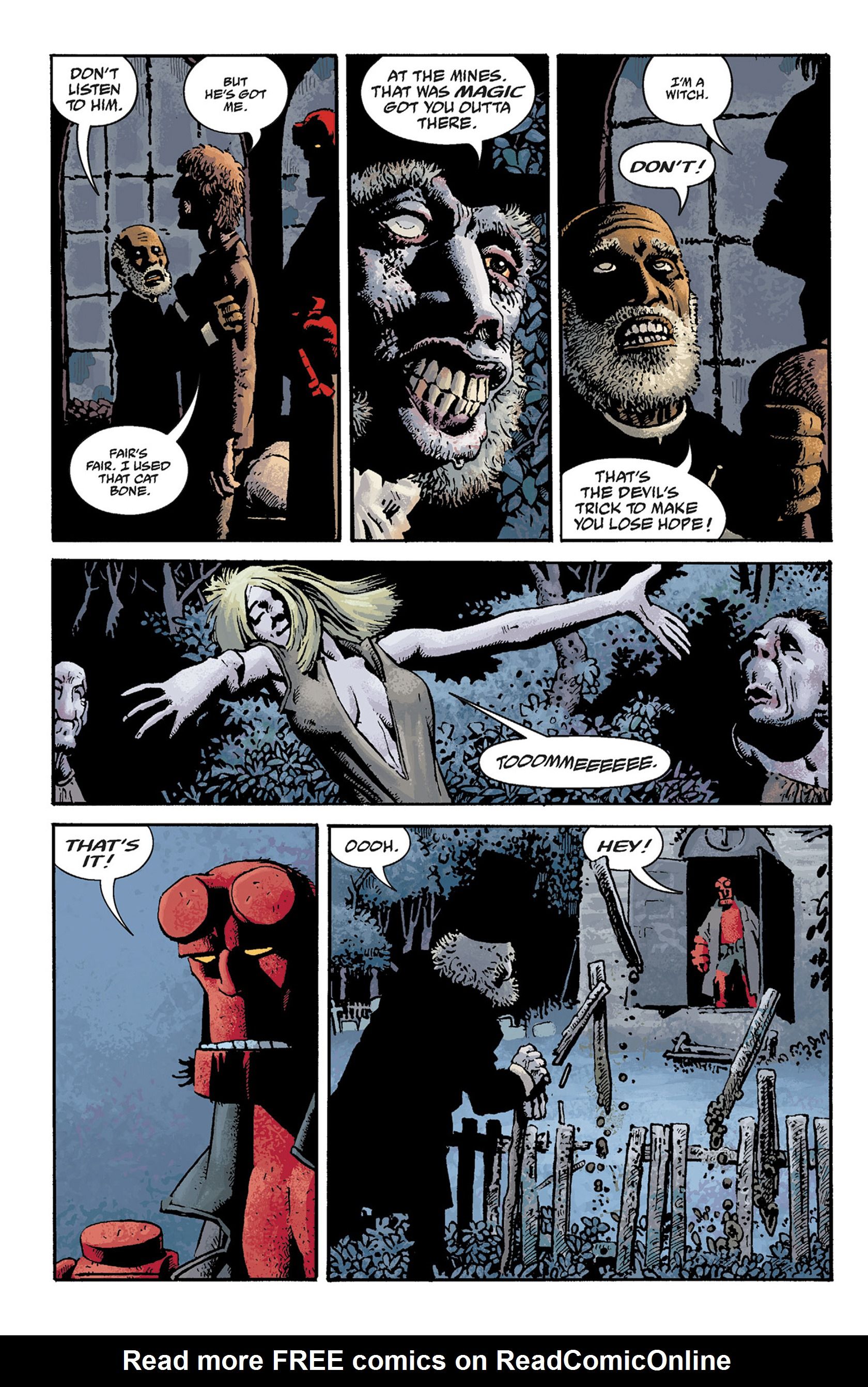 Read online Hellboy: The Crooked Man and Others comic -  Issue # TPB - 60