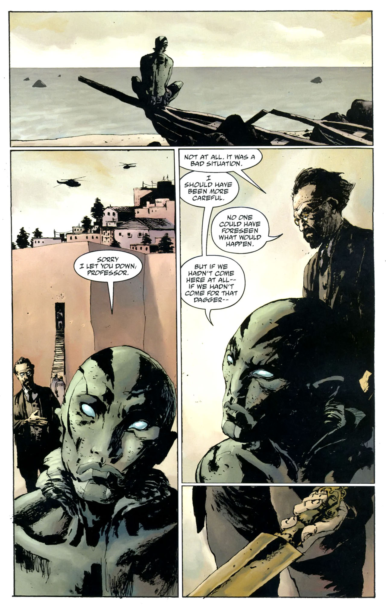Read online Abe Sapien: The Drowning comic -  Issue #5 - 23
