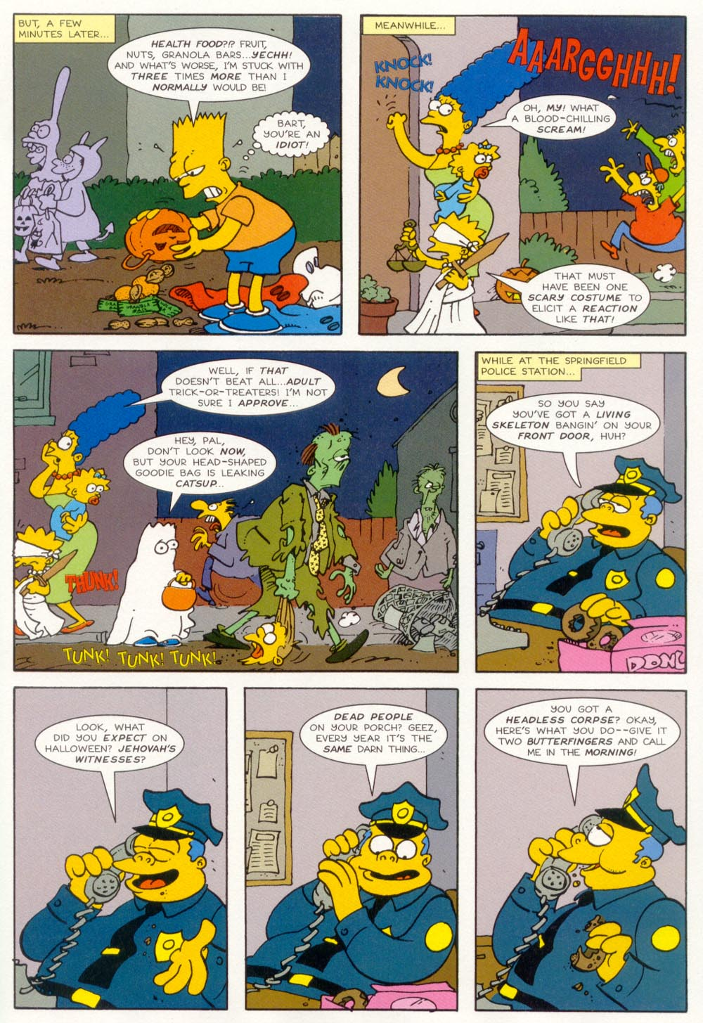 Read online Treehouse of Horror comic -  Issue #5 - 22