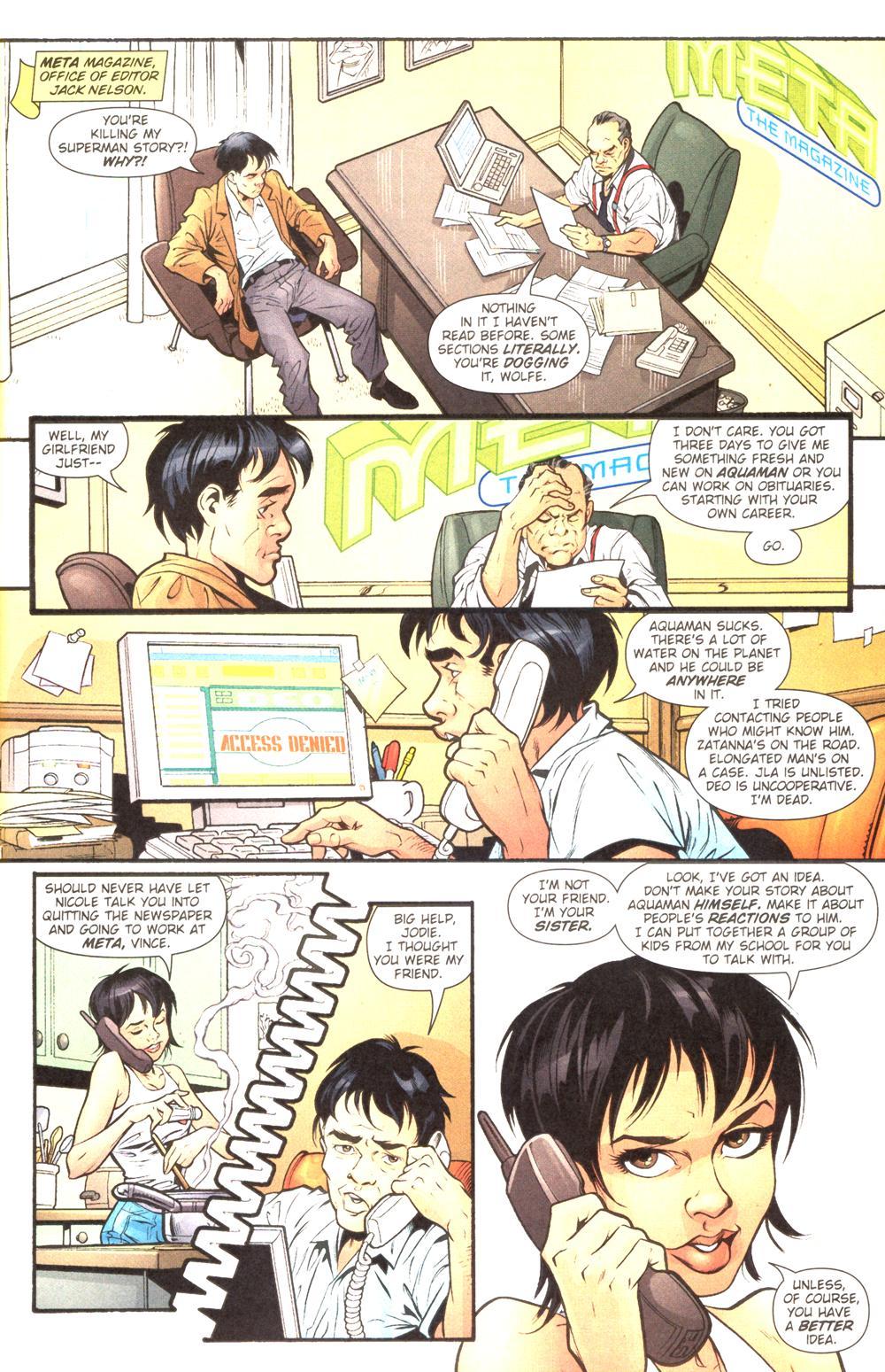 Read online Aquaman (2003) comic -  Issue #14 - 2