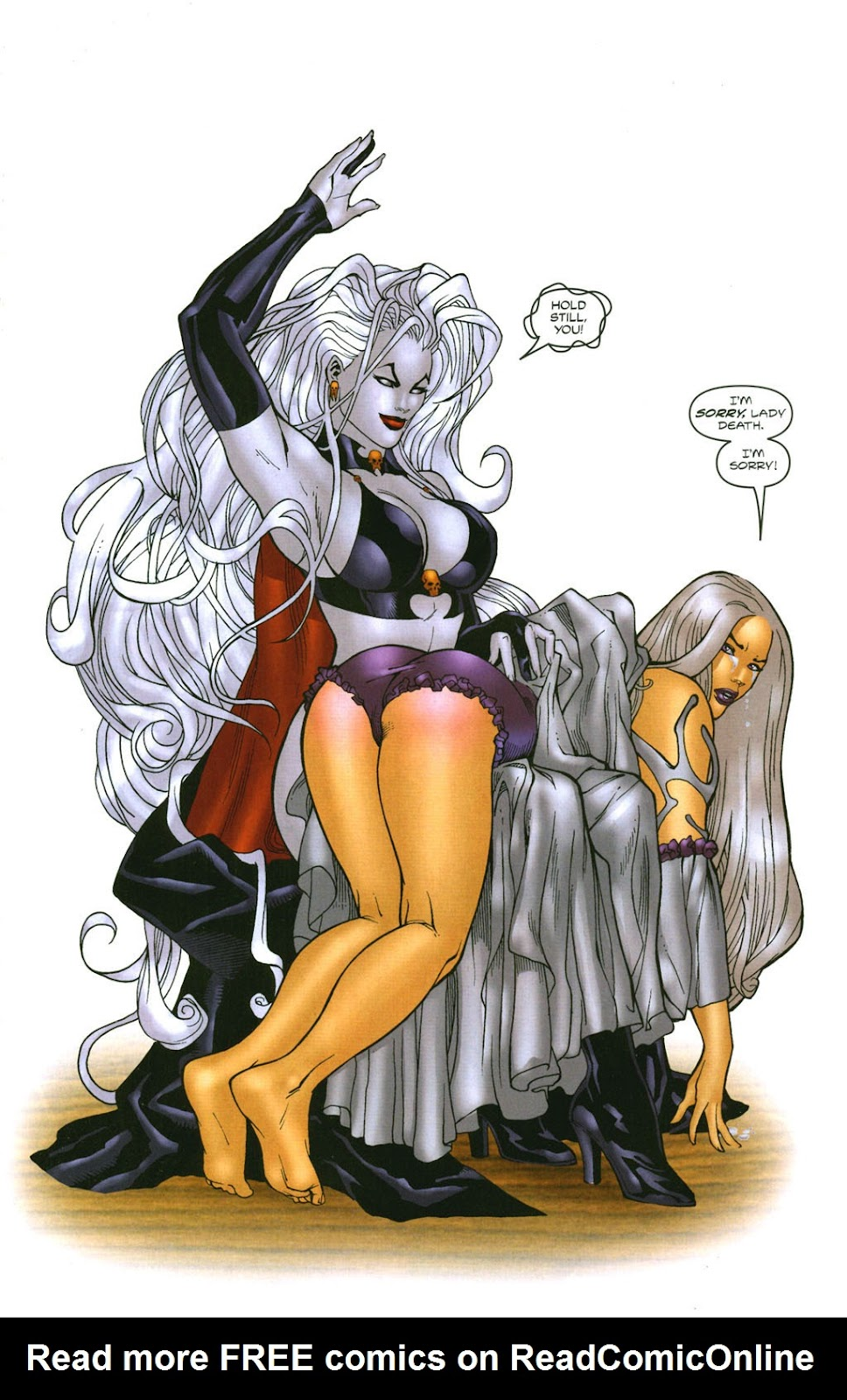 Read online Lady Death: The Wicked comic -  Issue #1 - 31
