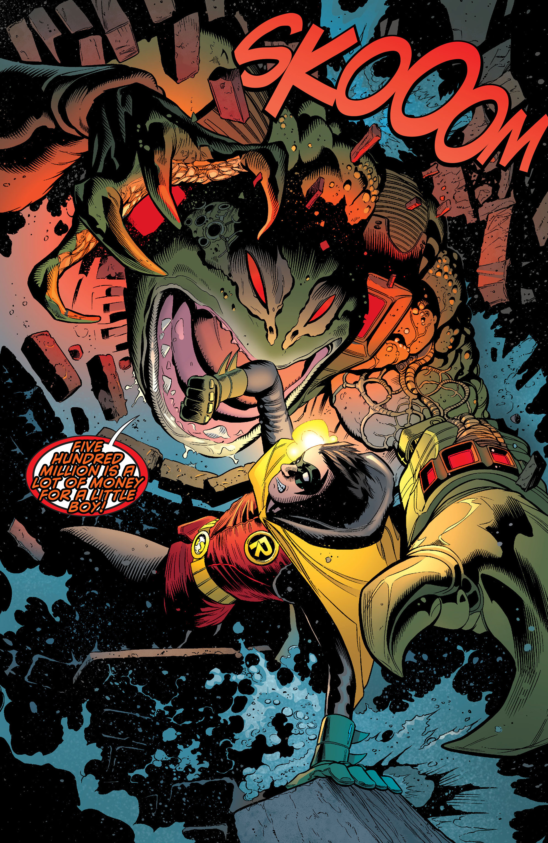 Read online Batman and Robin (2011) comic -  Issue #13 - 14