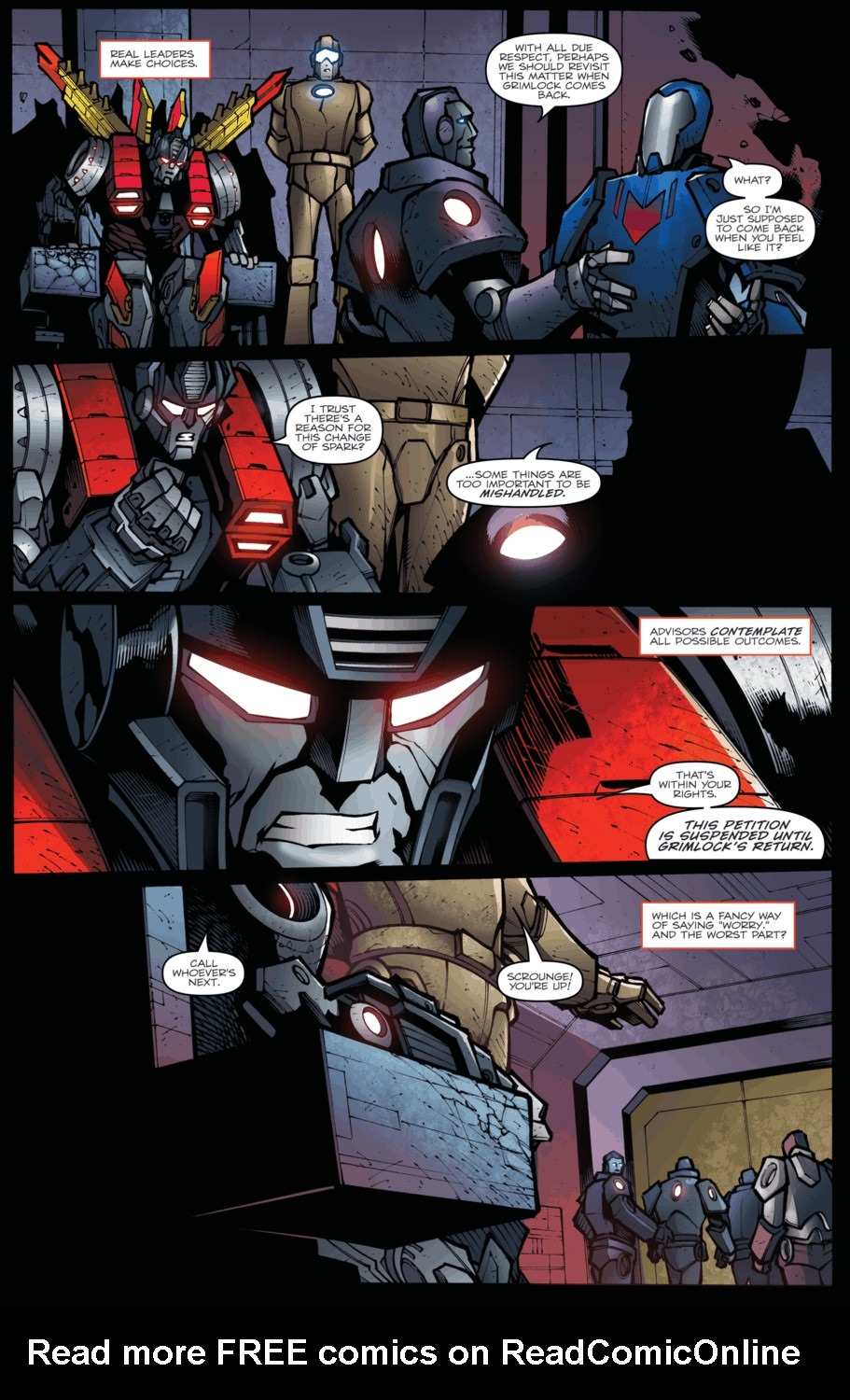 Read online Transformers Prime: Beast Hunters comic -  Issue #5 - 5