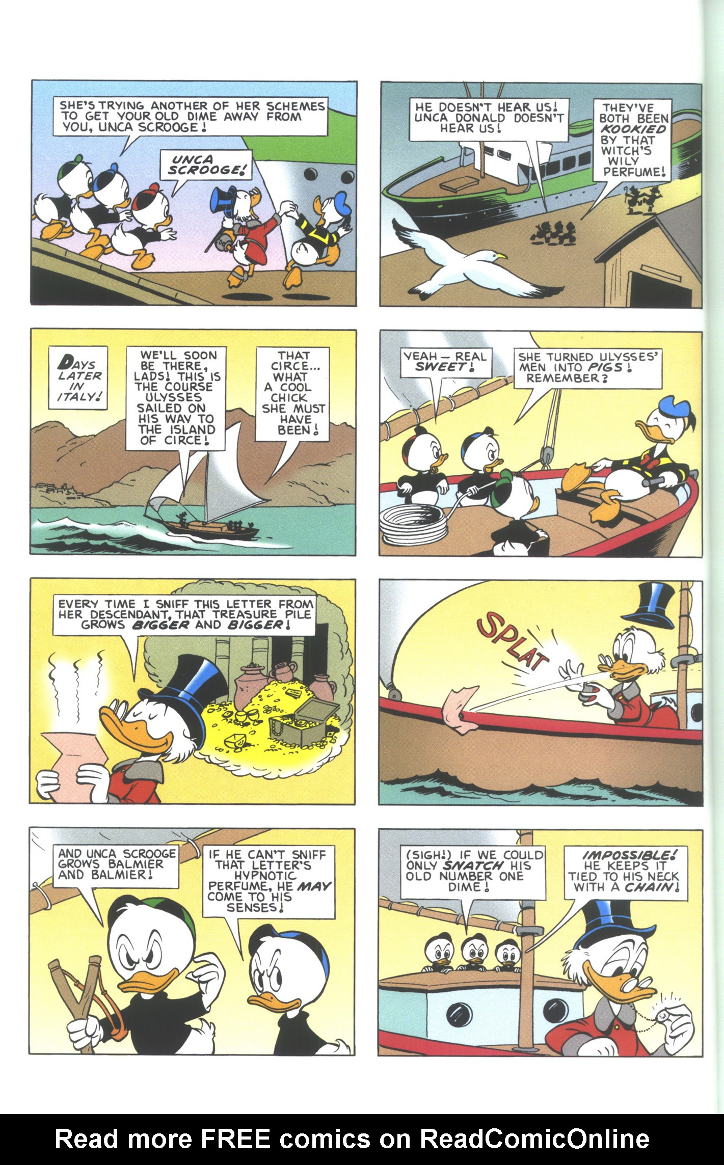 Read online Uncle Scrooge (1953) comic -  Issue #361 - 6