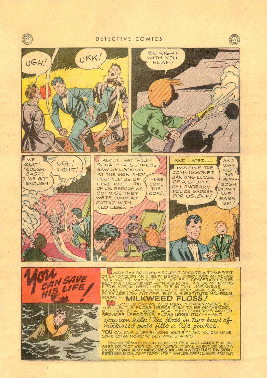 Read online Detective Comics (1937) comic -  Issue #92 - 30