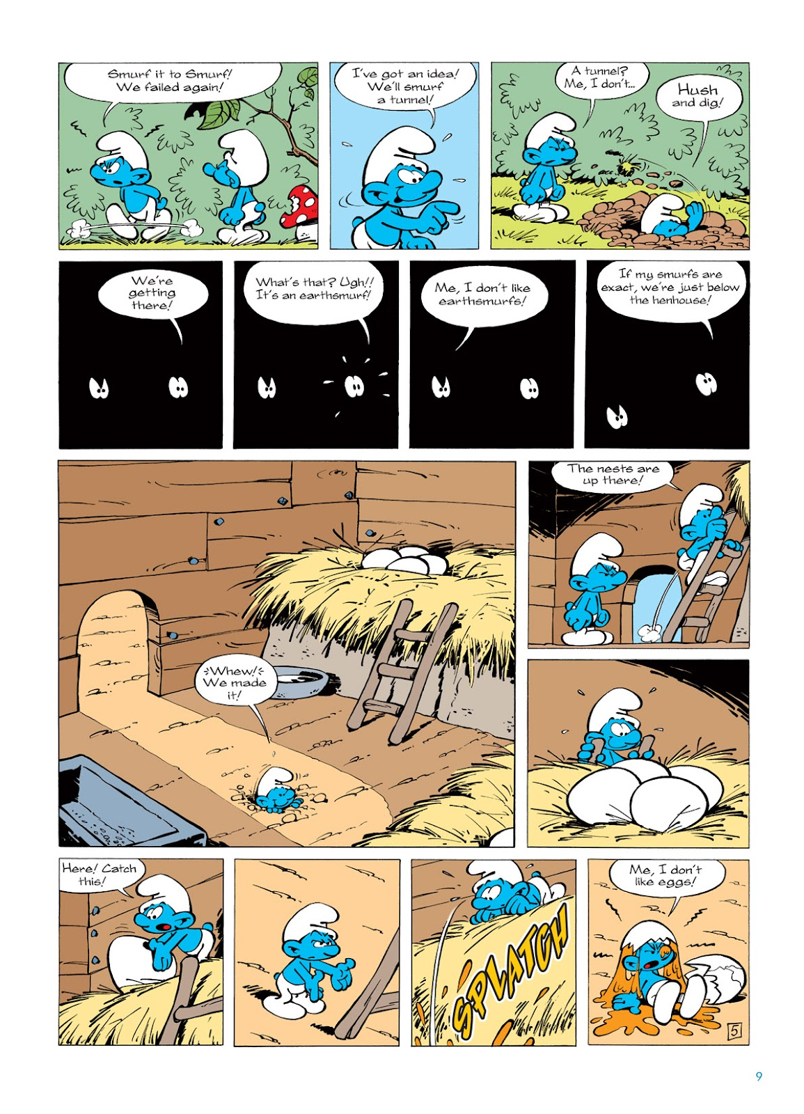 Read online The Smurfs comic -  Issue #5 - 9
