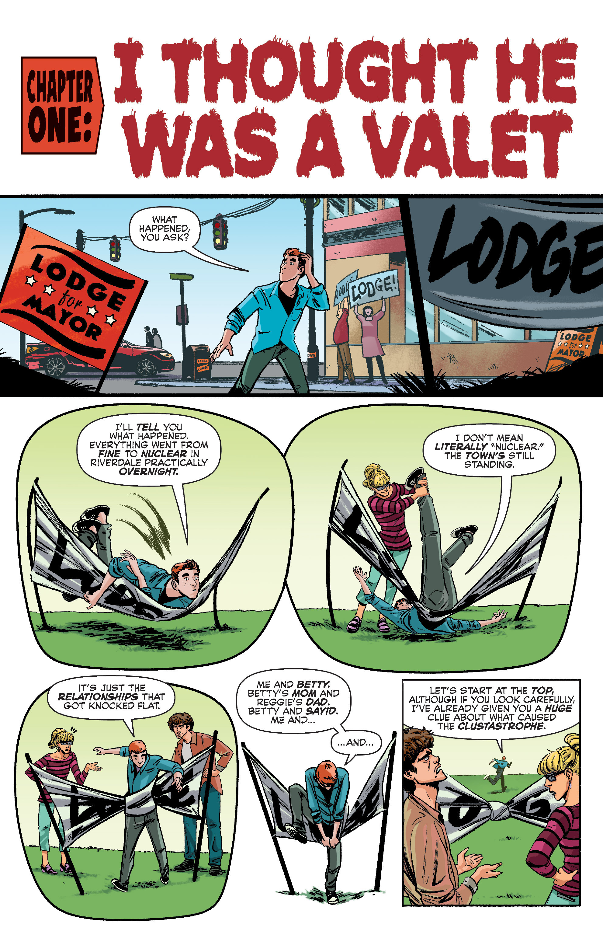 Read online Archie (2015) comic -  Issue #10 - 4