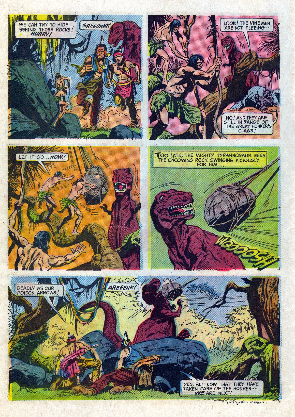 Read online Turok, Son of Stone comic -  Issue #61 - 26