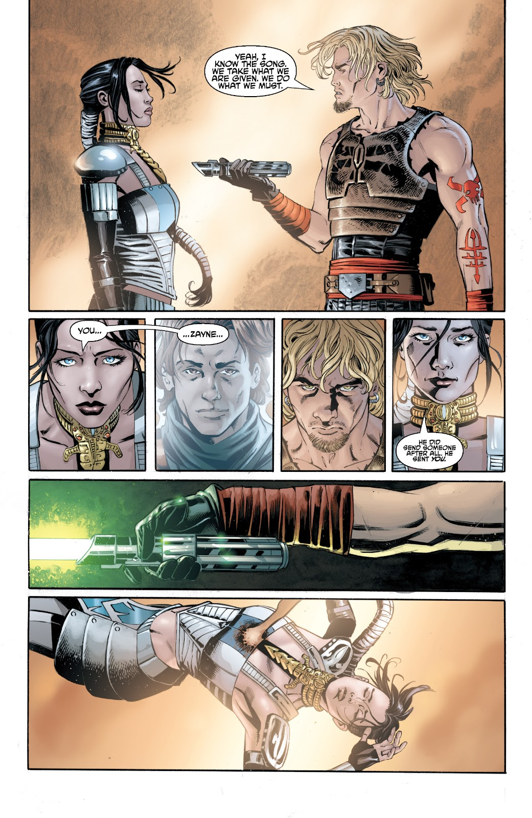 Read online Star Wars Legends: Legacy - Epic Collection comic -  Issue # TPB 2 (Part 3) - 84