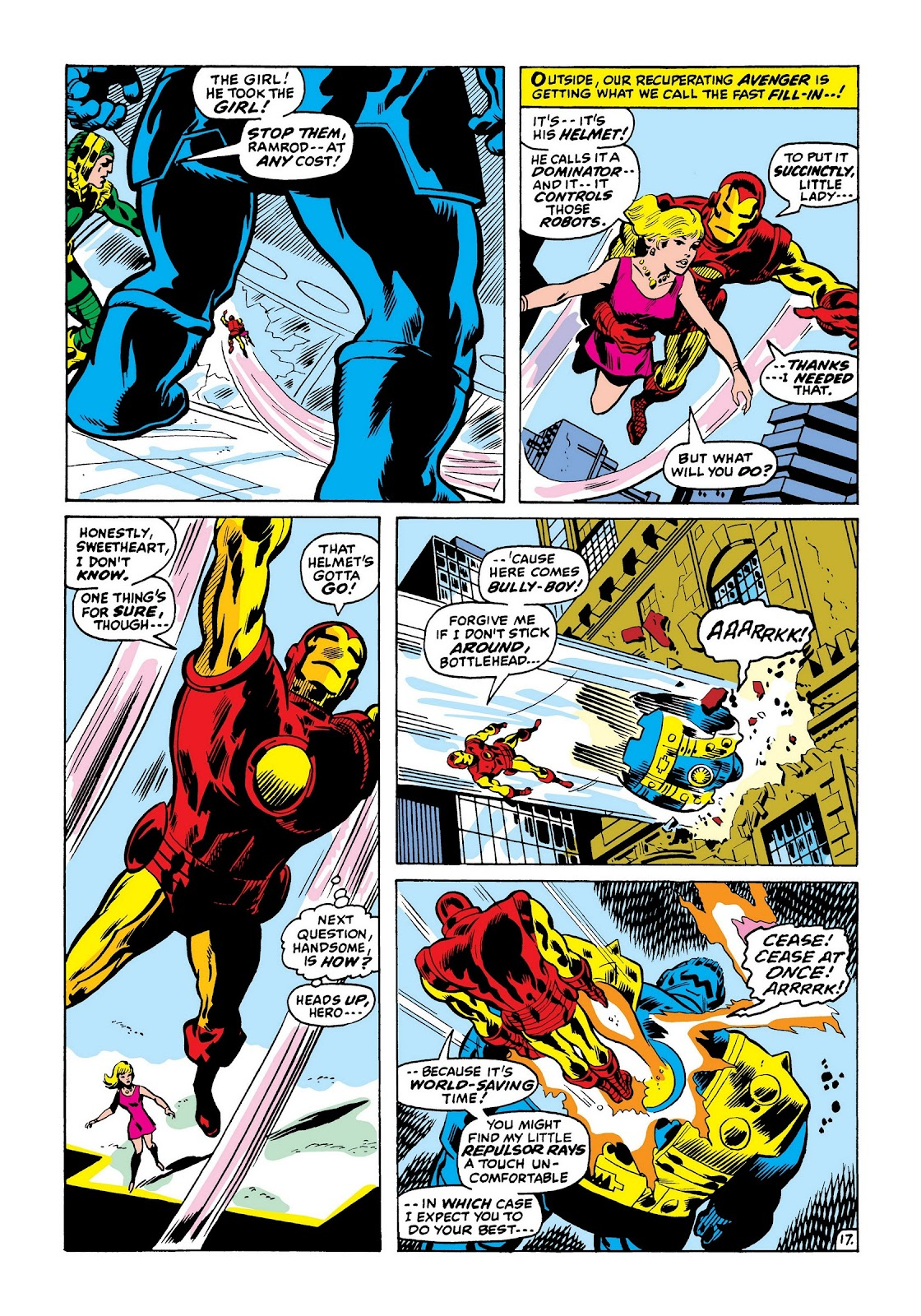 Read online Marvel Masterworks: The Invincible Iron Man comic -  Issue # TPB 7 (Part 3) - 65