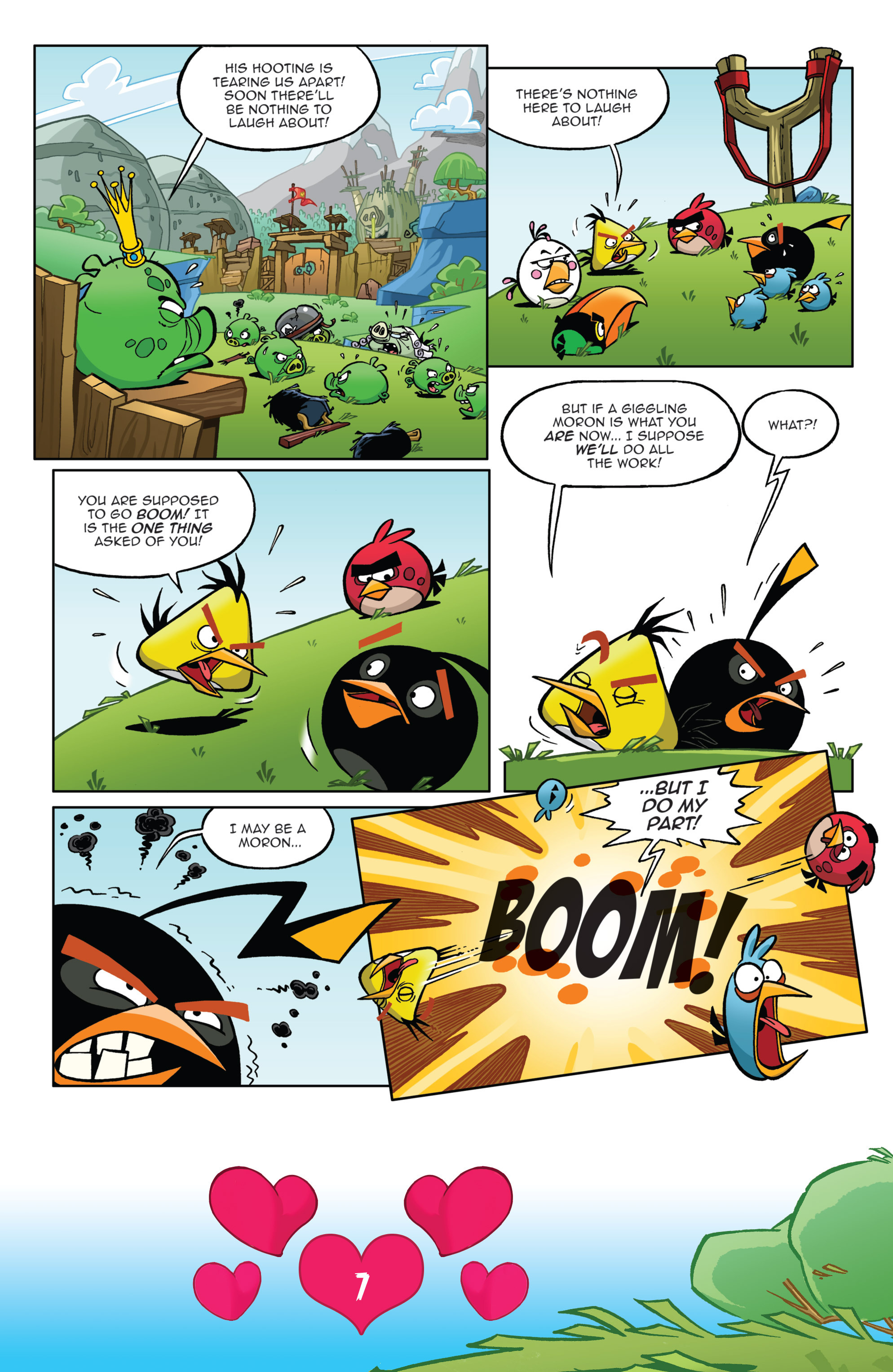 Read online Angry Birds Comics (2016) comic -  Issue #2 - 9