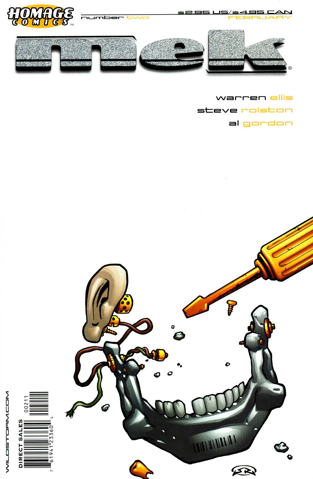 Read online Mek comic -  Issue #2 - 2