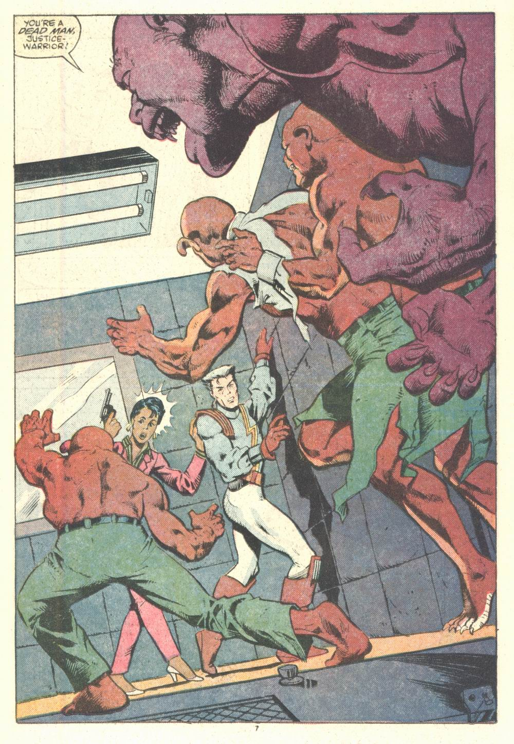 Read online Justice (1986) comic -  Issue #2 - 8