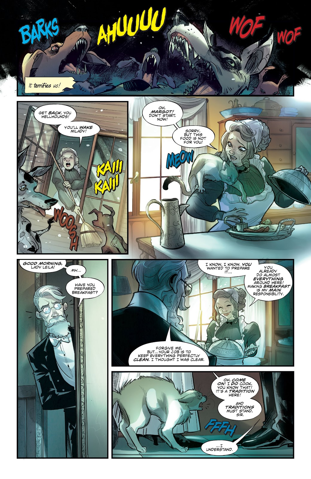 Read online Mirka Andolfo's Mercy comic -  Issue #2 - 6