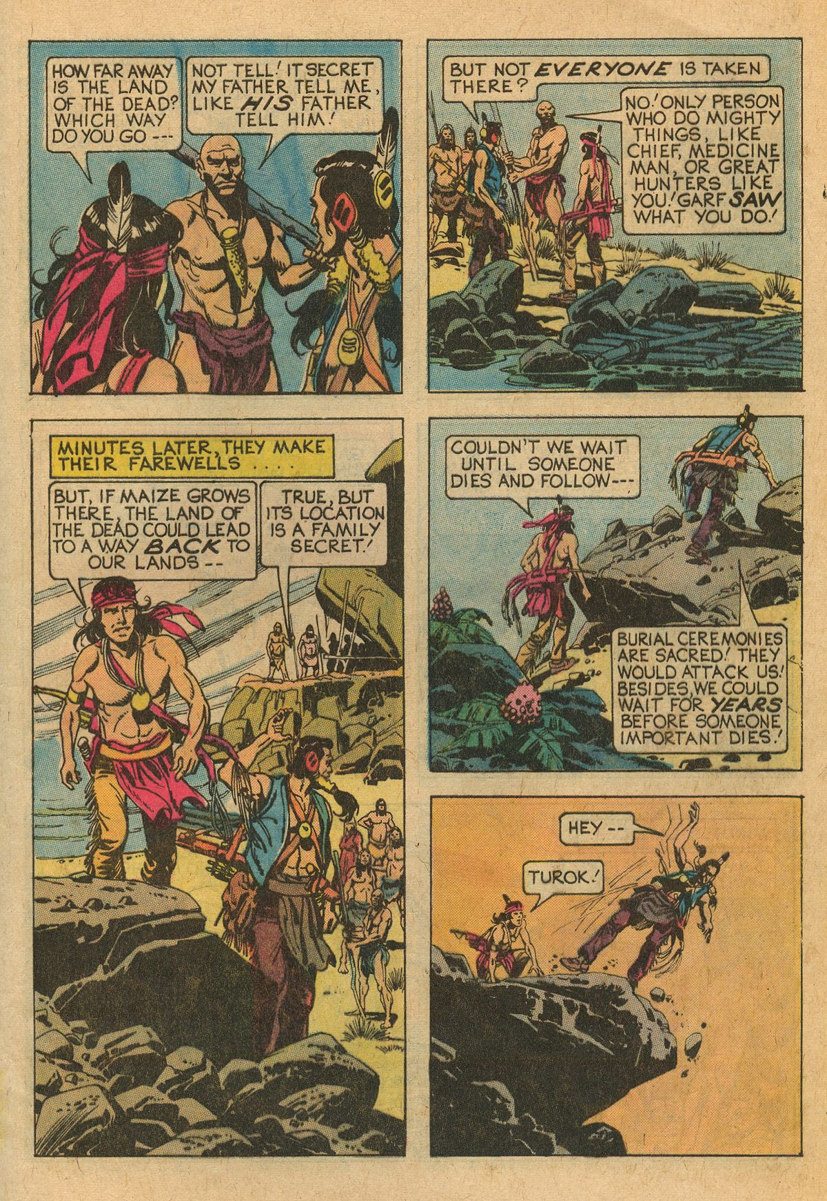 Read online Turok, Son of Stone comic -  Issue #111 - 9