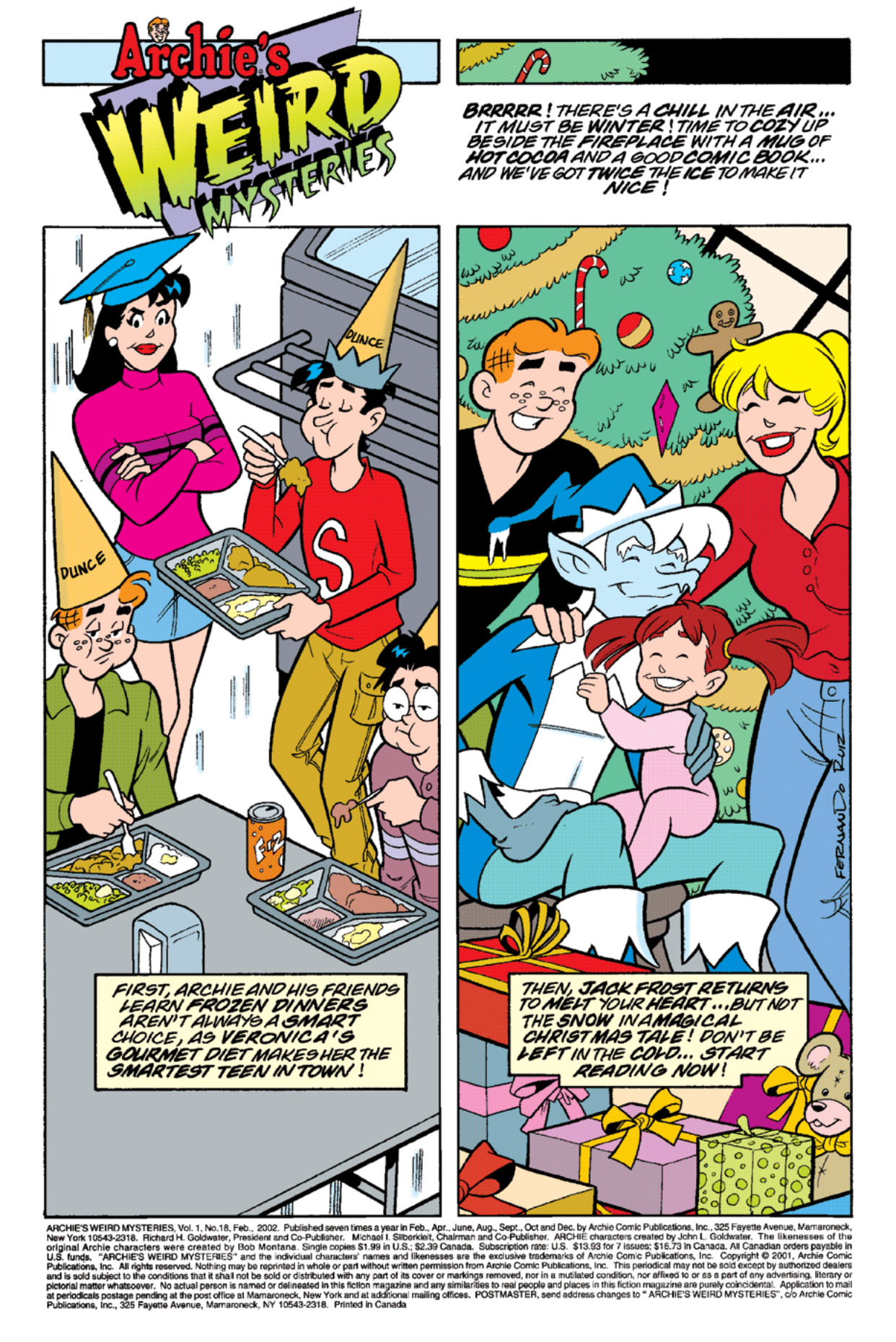 Read online Archie's Weird Mysteries comic -  Issue #18 - 2