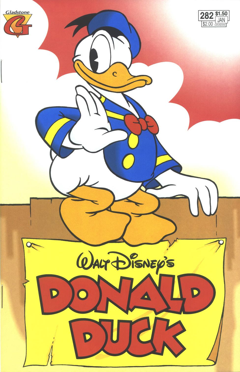 Walt Disney's Donald Duck (1952) issue 282 - Page 1