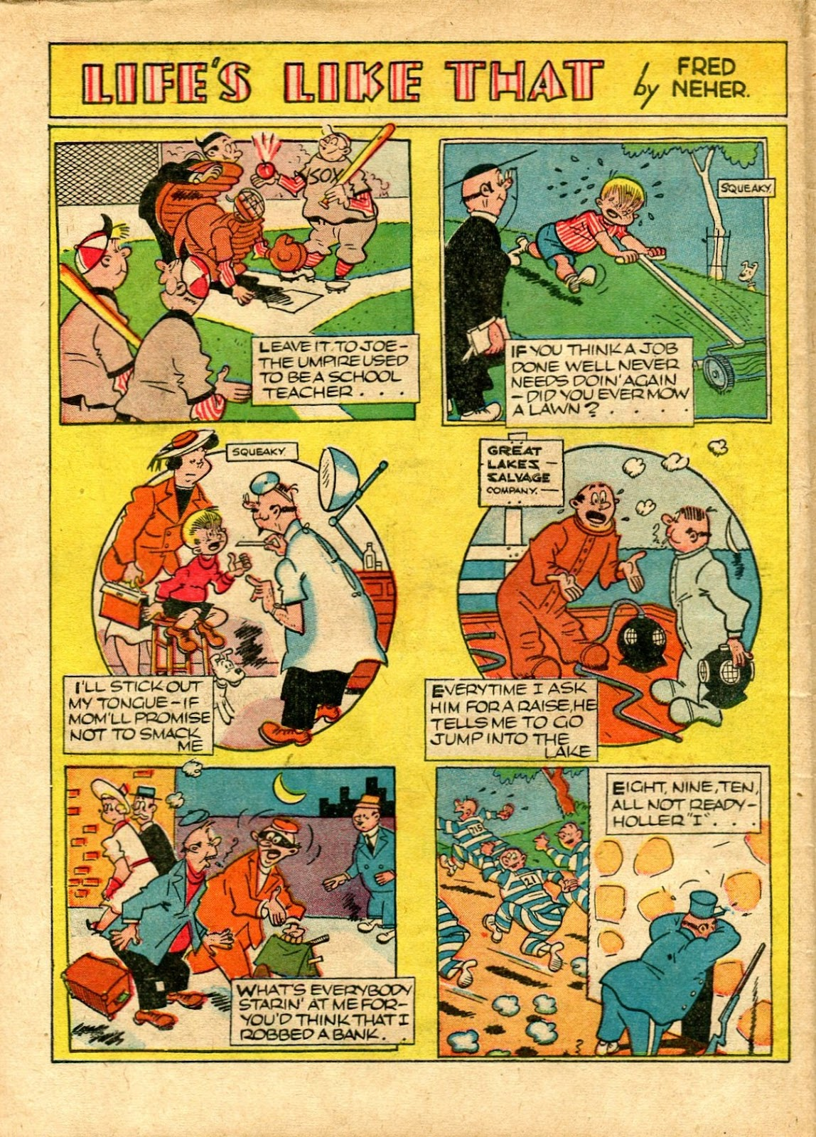 Read online Famous Funnies comic -  Issue #72 - 58