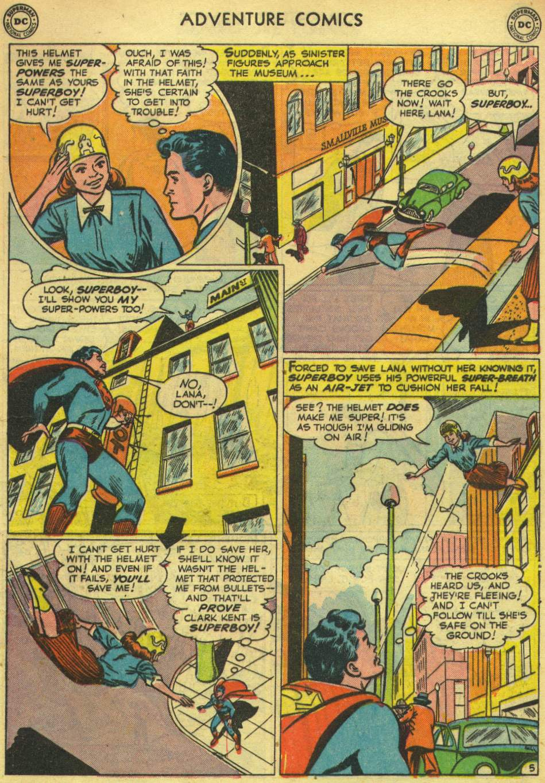 Read online Adventure Comics (1938) comic -  Issue #167 - 7