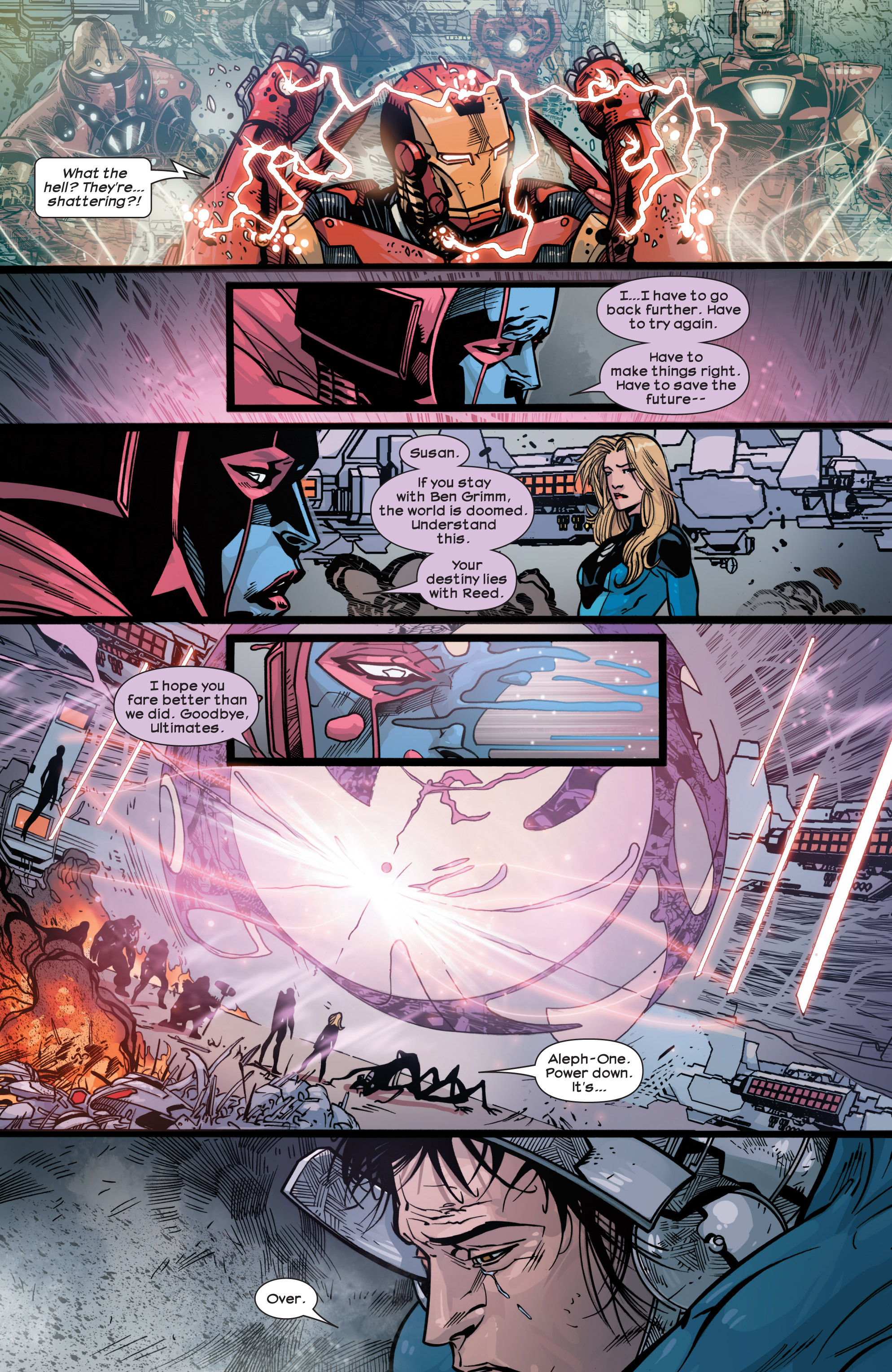 Read online Ultimate Comics Ultimates comic -  Issue #30 - 17