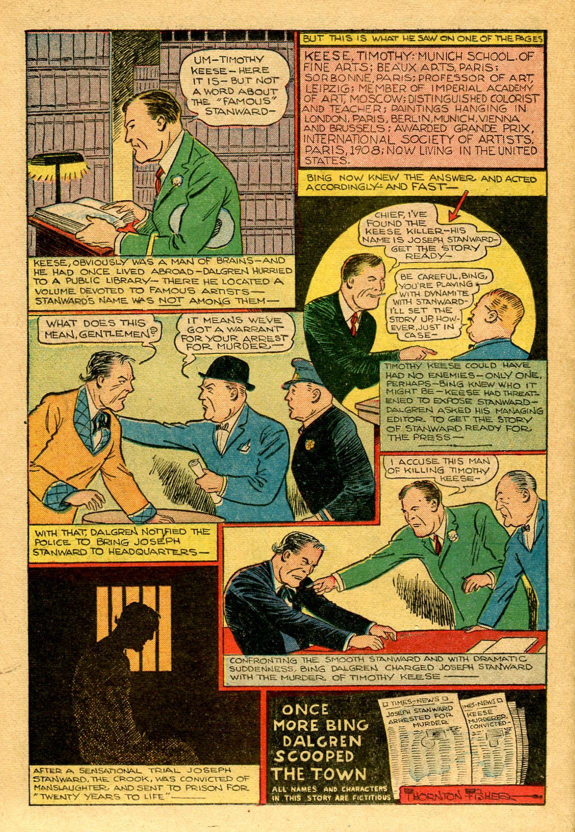 Read online Shadow Comics comic -  Issue #53 - 35