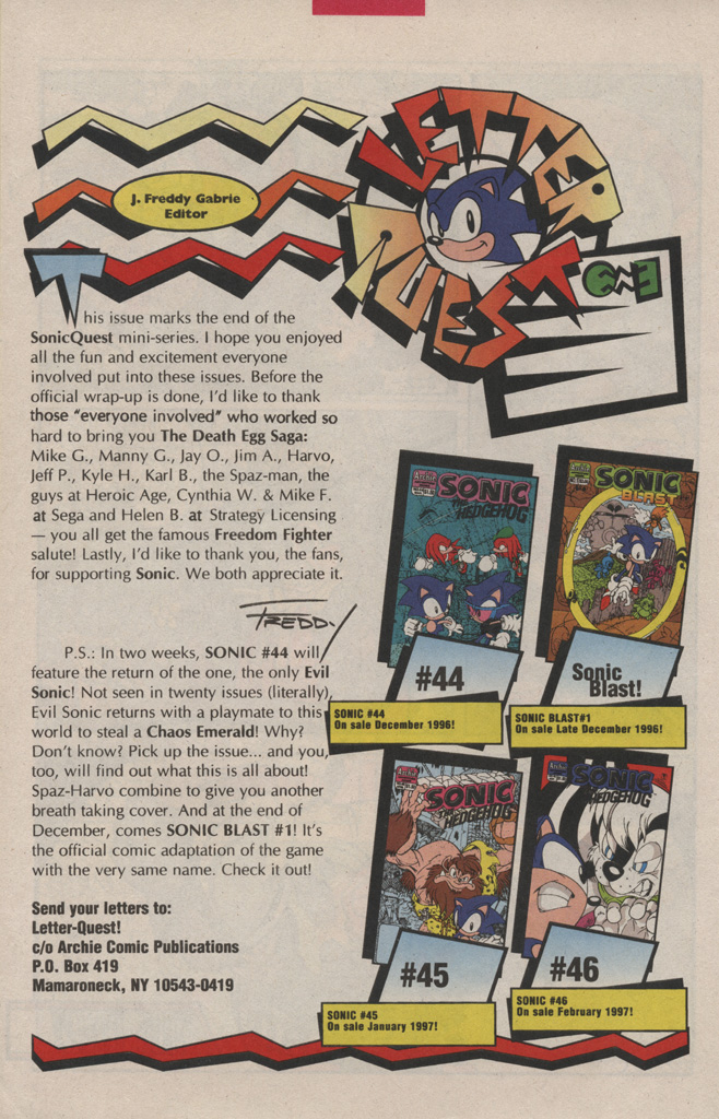 Read online Sonic Quest - The Death Egg Saga comic -  Issue #3 - 30