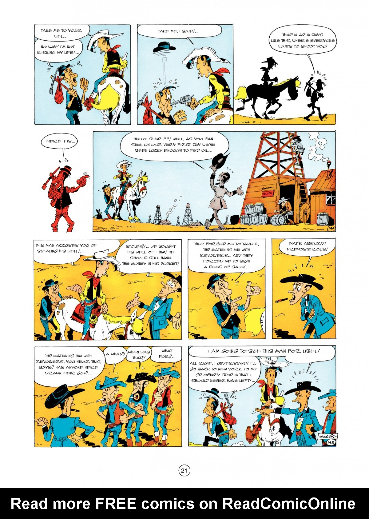 A Lucky Luke Adventure 5 Page 22