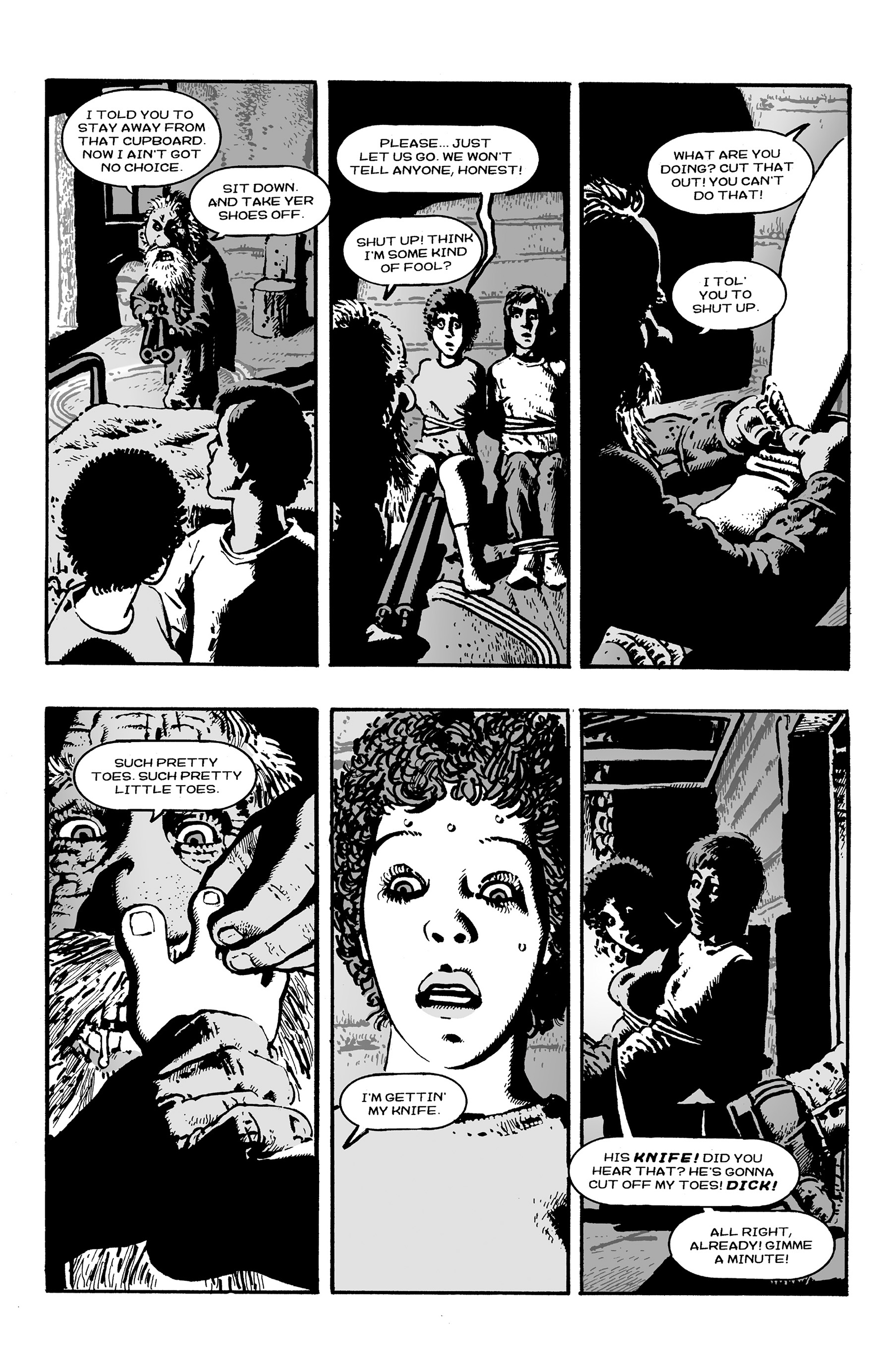 Read online Shadows on the Grave comic -  Issue #3 - 21