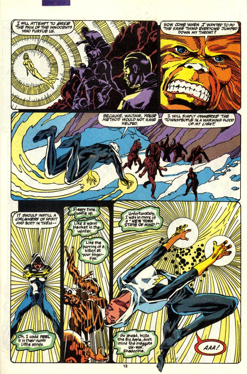 Read online Alpha Flight (1983) comic -  Issue #93 - 10