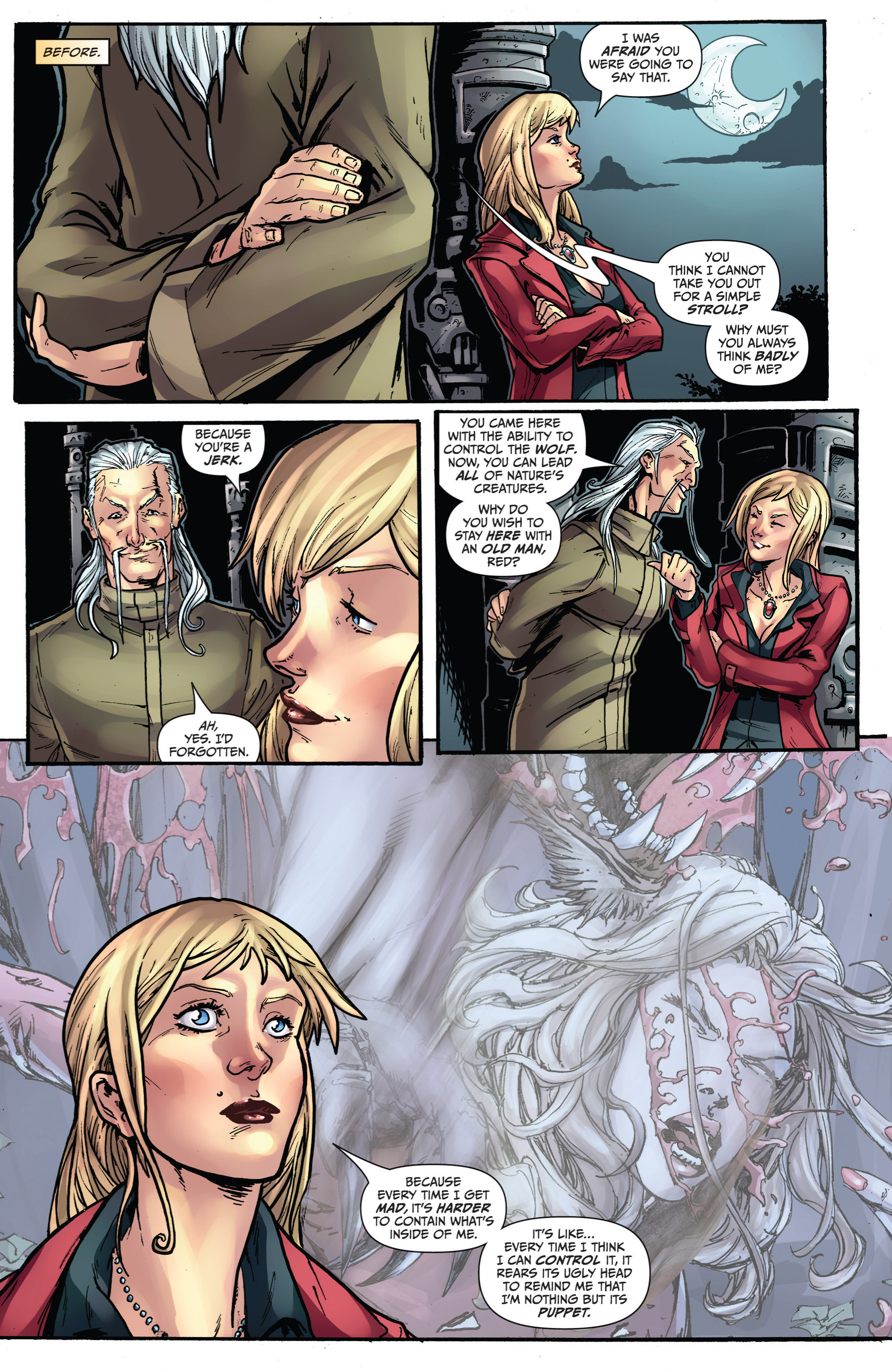 Read online Grimm Fairy Tales presents Grimm Universe comic -  Issue # TPB - 96