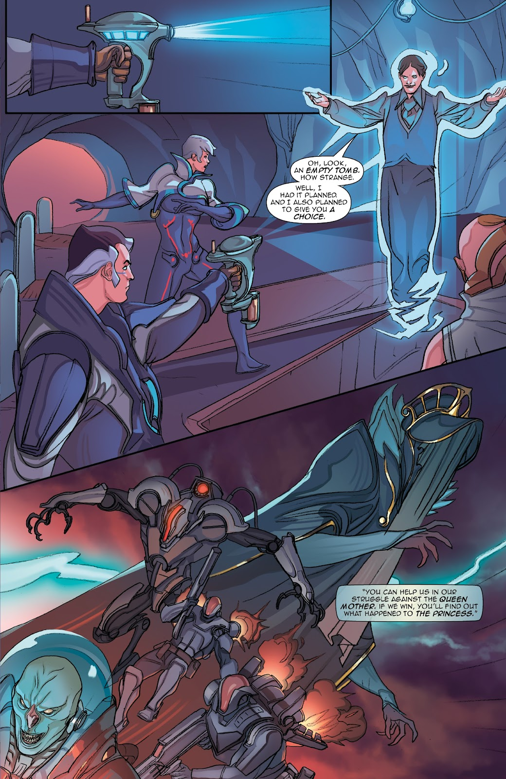 Read online Lightstep comic -  Issue #5 - 25