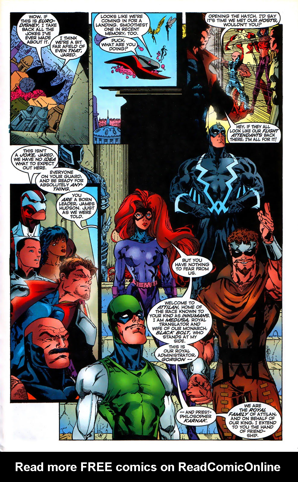 Read online Alpha Flight (1997) comic -  Issue # _Annual - 24