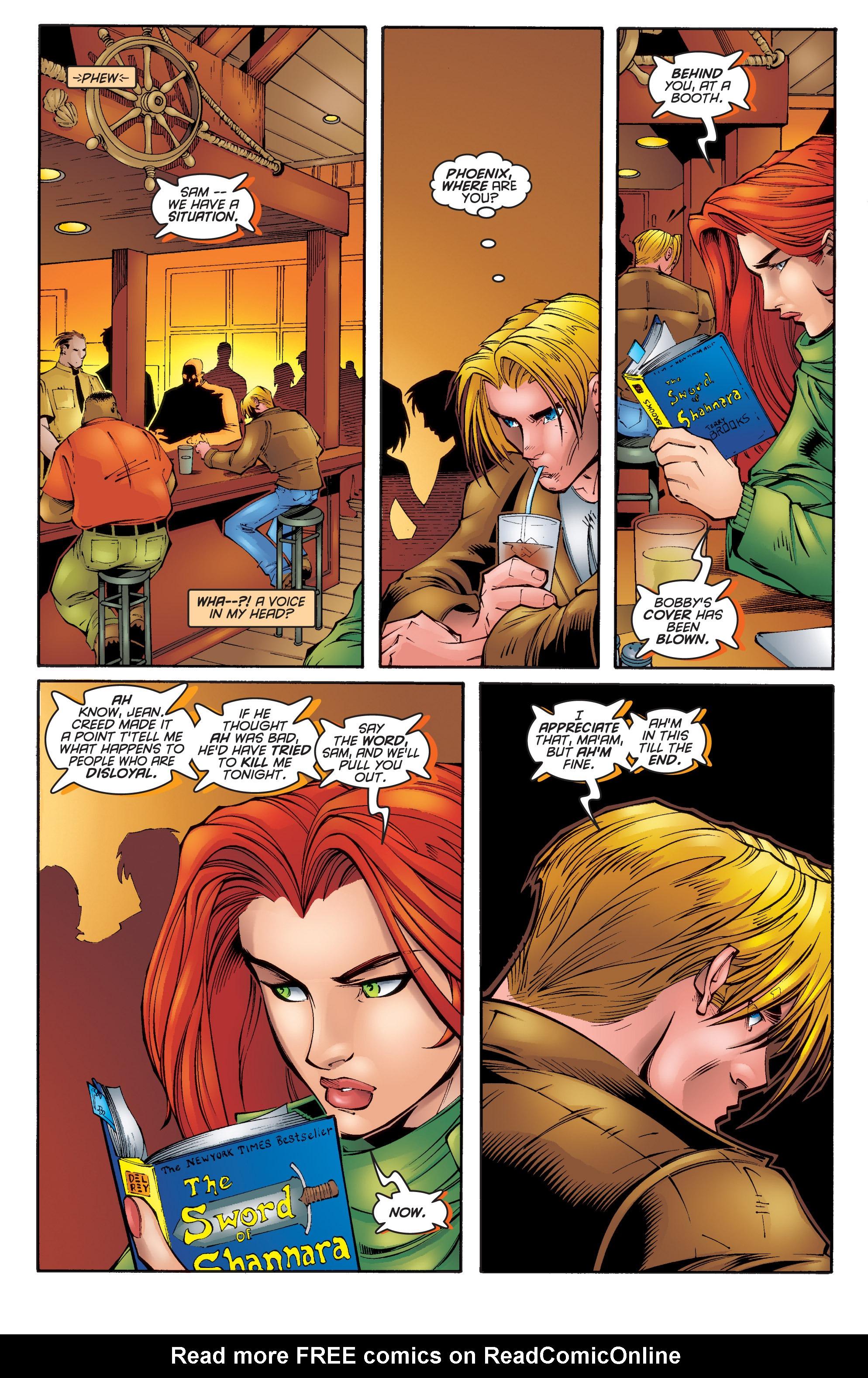 Read online Uncanny X-Men (1963) comic -  Issue #340 - 21
