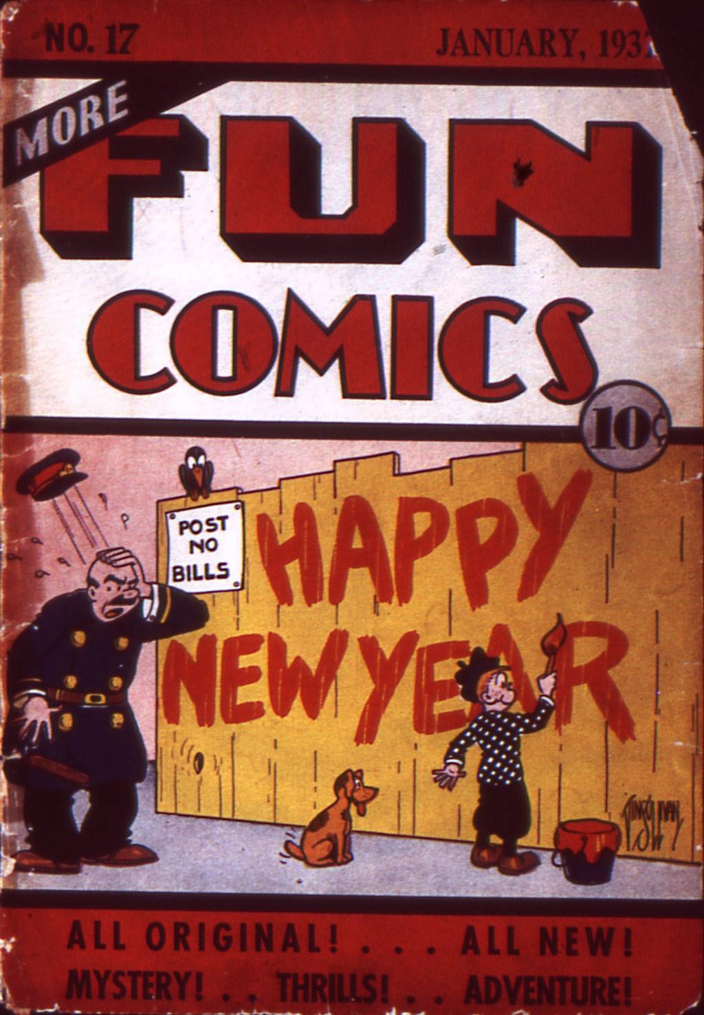 More Fun Comics 17 Page 1