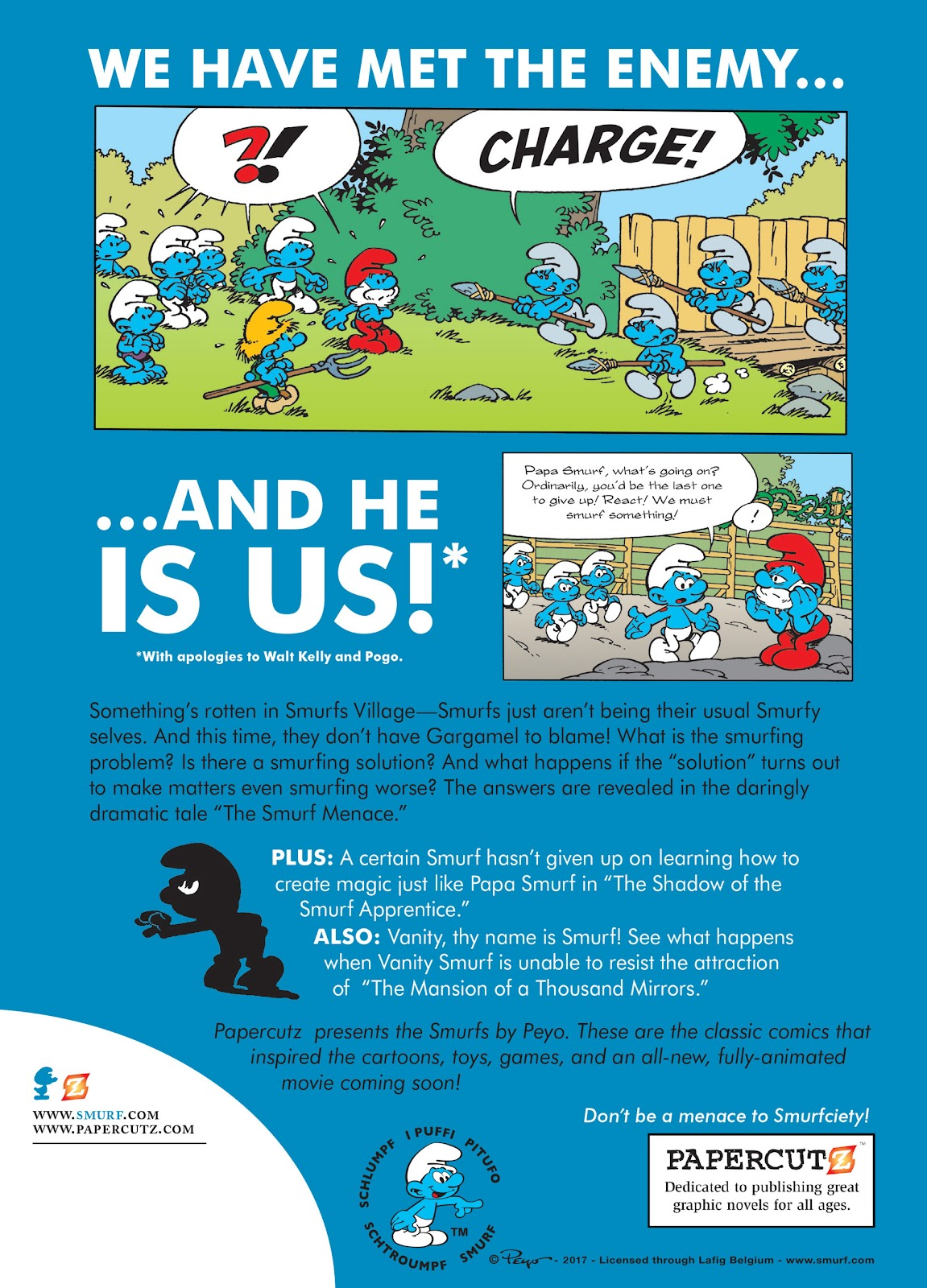Read online The Smurfs comic -  Issue #22 - 66