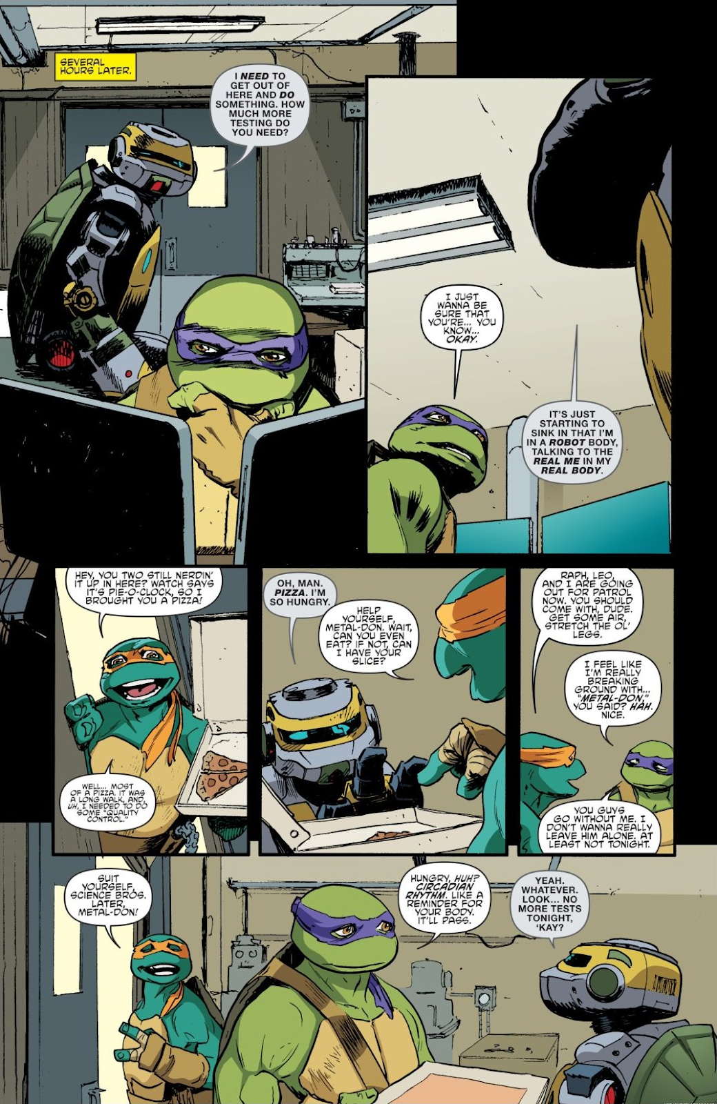 Read online Teenage Mutant Ninja Turtles: The IDW Collection comic -  Issue # TPB 8 (Part 4) - 49