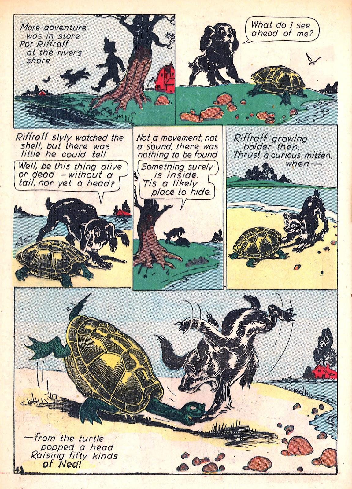Read online Animal Comics comic -  Issue #4 - 45