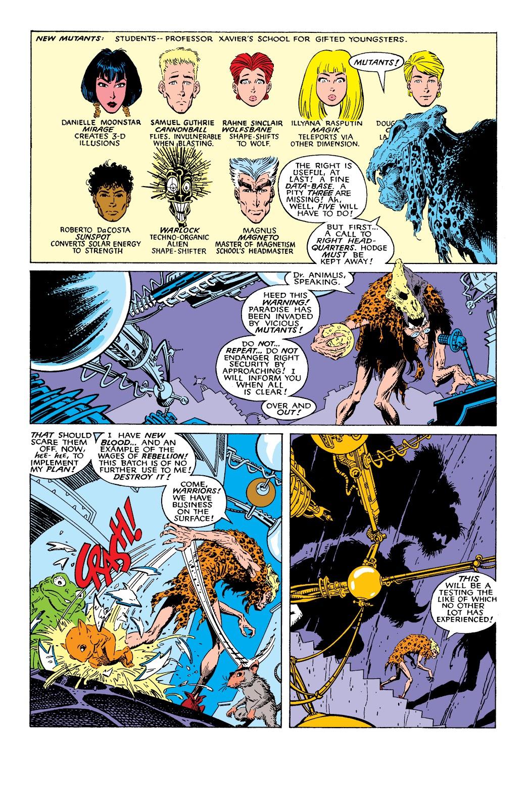 Read online X-Men Milestones: Fall of the Mutants comic -  Issue # TPB (Part 1) - 97