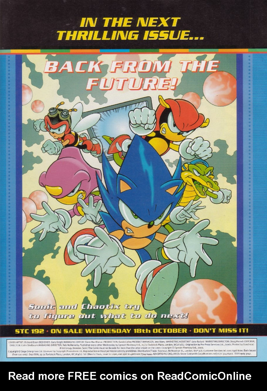 Read online Sonic the Comic comic -  Issue #191 - 2