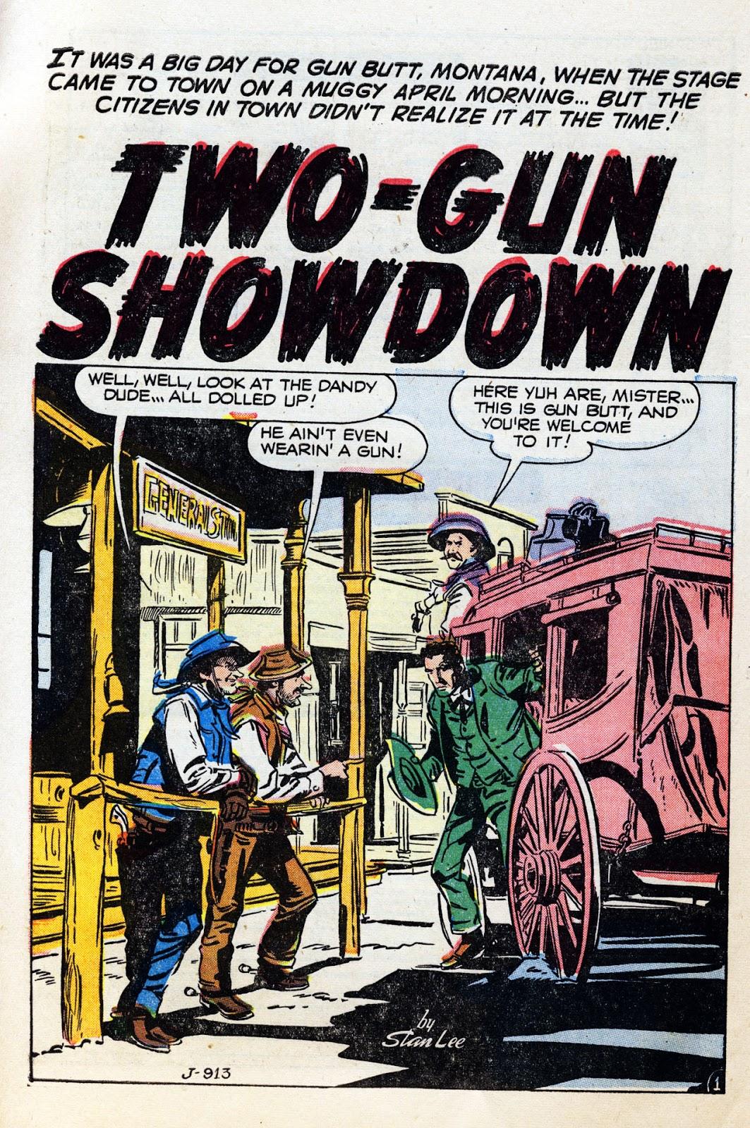 Gunsmoke Western issue 36 - Page 10