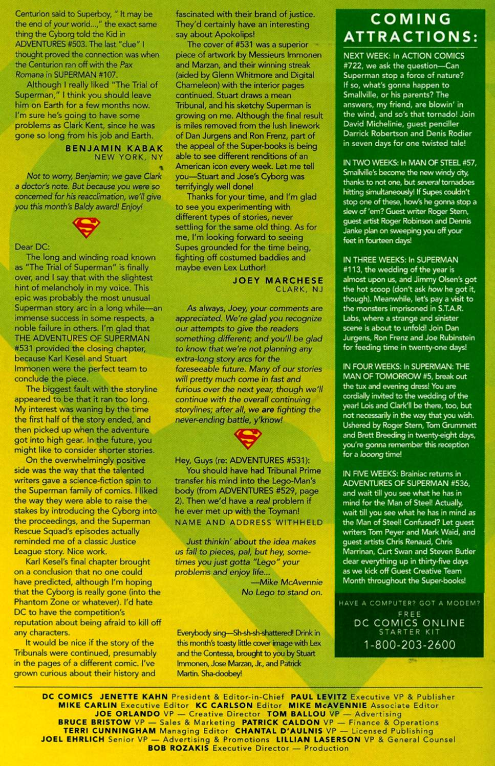 Read online Adventures of Superman (1987) comic -  Issue #535 - 25
