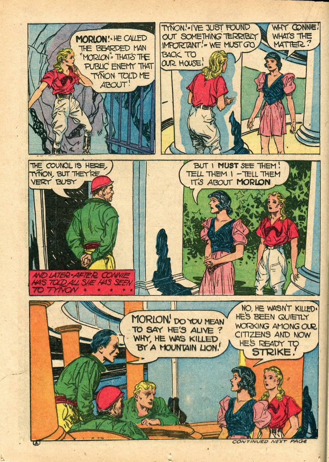 Read online Famous Funnies comic -  Issue #112 - 30