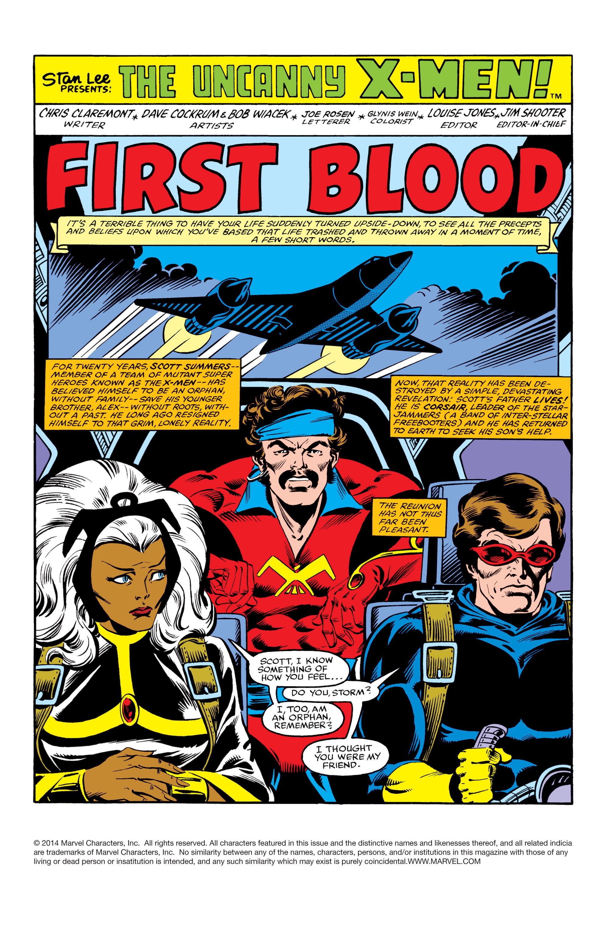 Read online Uncanny X-Men (1963) comic -  Issue #155 - 2