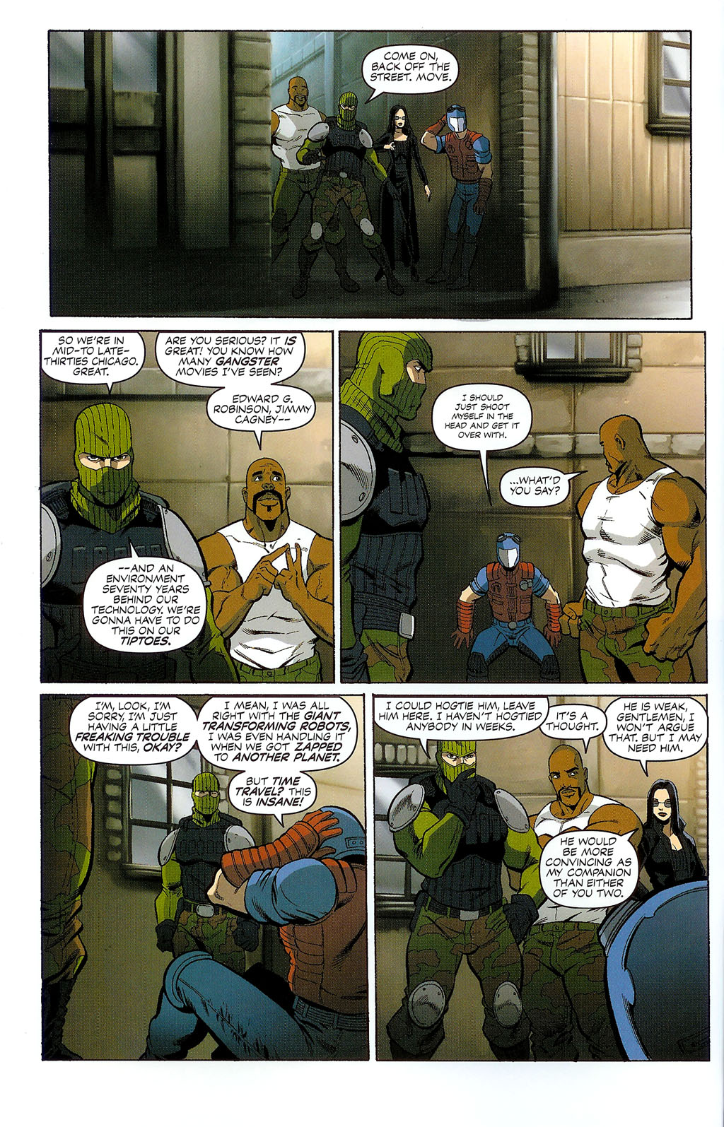 G.I. Joe vs. The Transformers II Issue #2 #3 - English 5