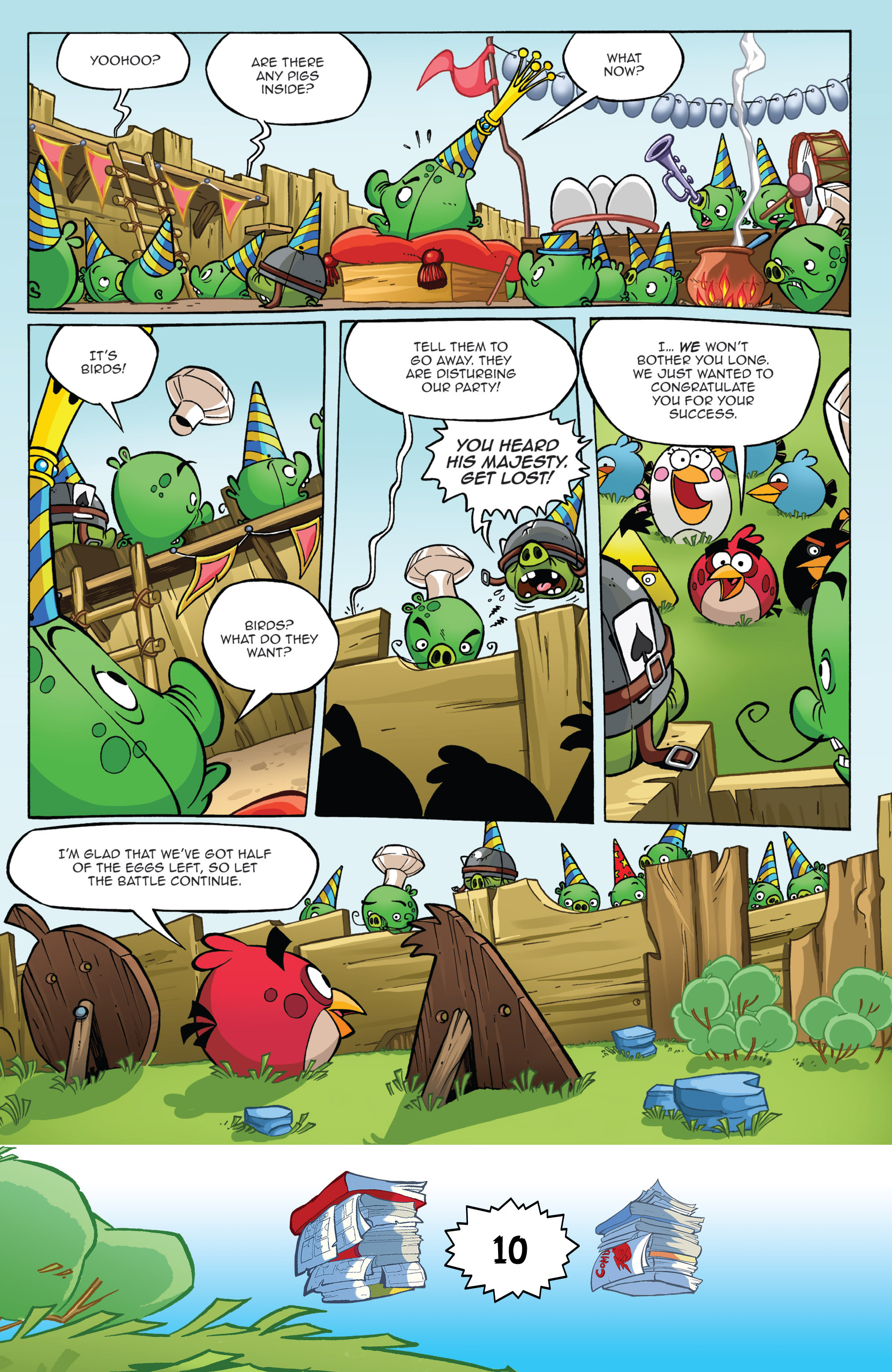 Read online Angry Birds Comics (2016) comic -  Issue #6 - 12
