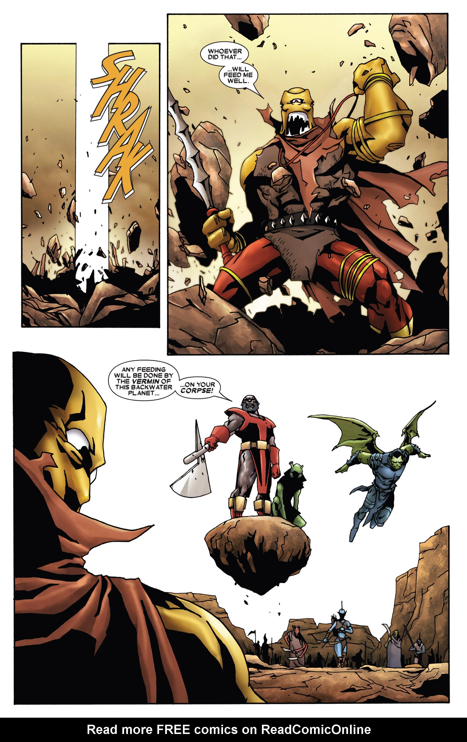 Read online Annihilation: Heralds Of Galactus comic -  Issue #1 - 15