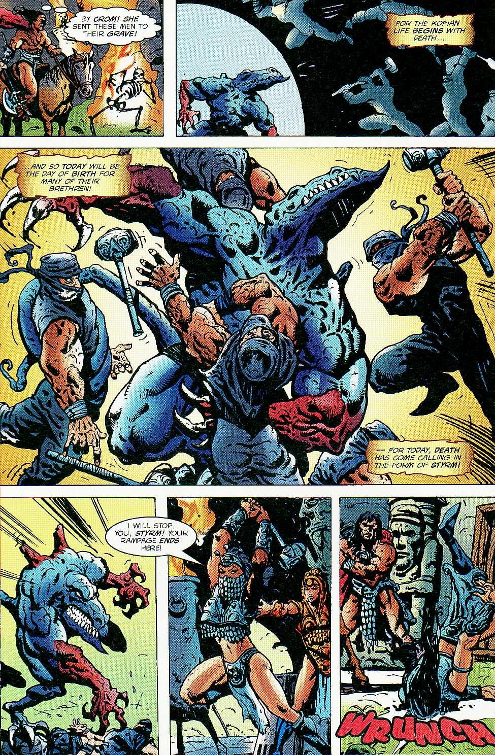 Read online Conan: Return of Styrm comic -  Issue #3 - 20