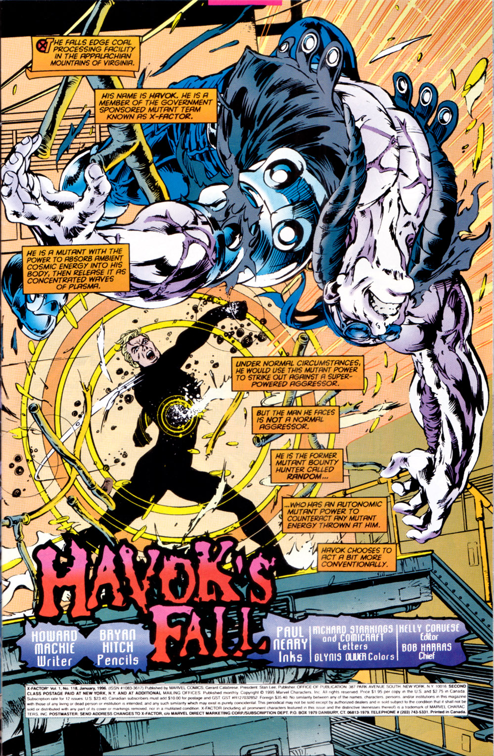 Read online X-Factor (1986) comic -  Issue #118 - 4